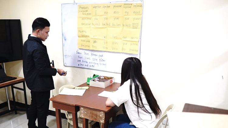 菲律宾碧瑶PINES语言学校-教师的内部培训